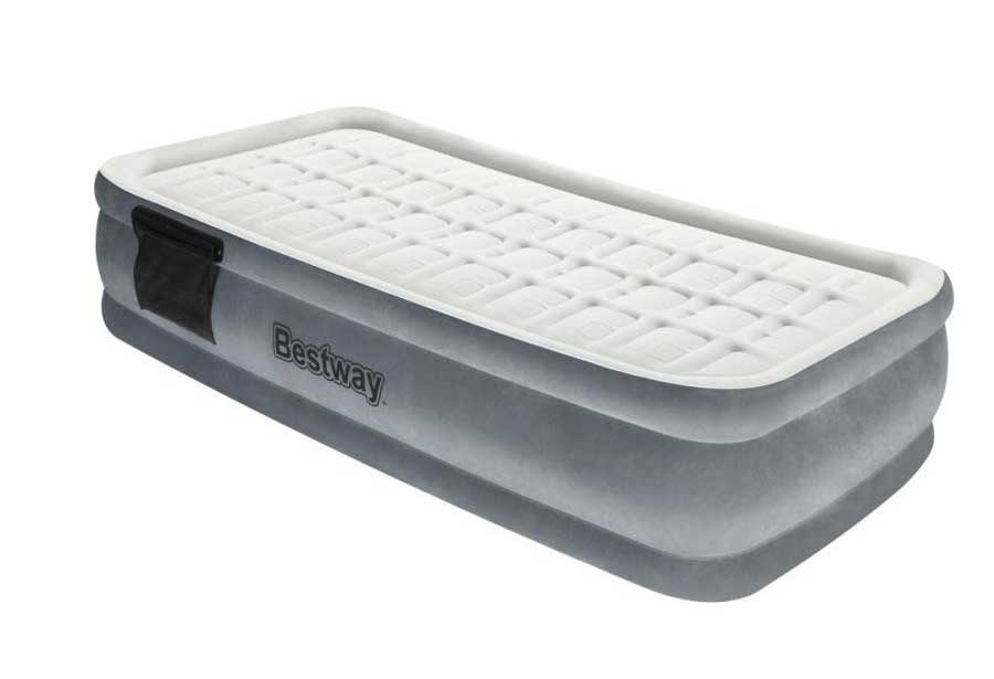 Надувная кровать Comfort Cell TechTM Premiere Plus Elevated Airbed(Single) 191х97х43 см со встр. нас, BestWay, 67558 BW