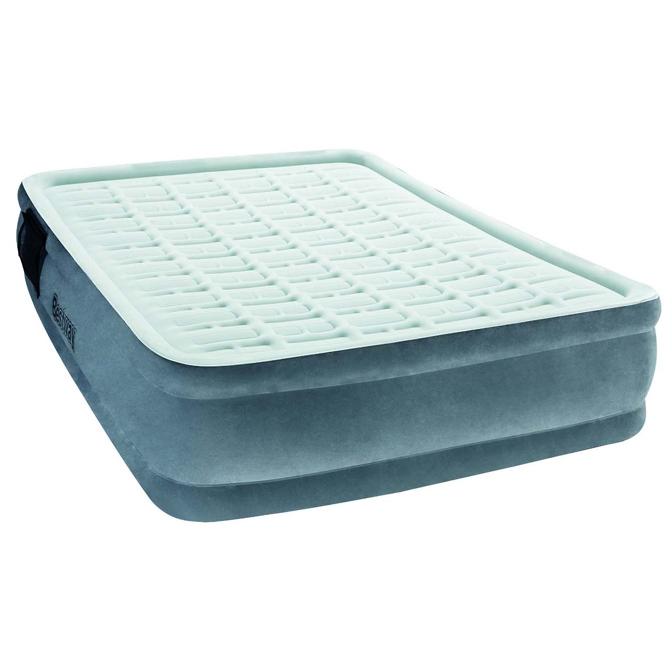 Надувная кровать Comfort Cell TechTM Premiere Plus Elevated Airbed(Queen) 203х152х43 см со встр.нас, BestWay, 67560 BW