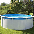 Стальной бассейн Hydrium Pool Set 360х120см, 10990л, песоч.фил.-насос 2006л/ч,  лестн, подстилка, Bestway 56285 BW